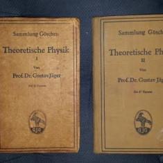 Gustav Jager THEORETISCHE PHYSIK 5 volume - Carte Fizica