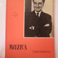 Revista Muzica 1960, nr. 12, reviste culturale vechi - Revista culturale