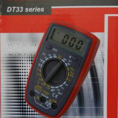 DT-33D Aparat de Masura Digital Electronic | DT33D | Buzzer | MULTIMETRU | AMPERMETRU | VOLTMETRU | NOU - Multimetre