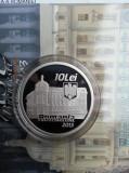 ROMANIA 10 LEI 2013 BNR   ASE BUCURESTI  100 ANI DE LA INFIINTARE  ARGINT PROOF