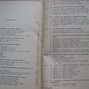 Agrotehnica Culturilor Irigate - colectiv 1962