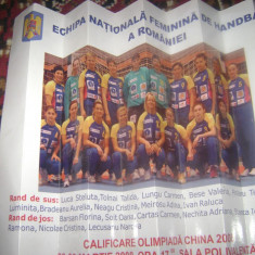 Program sportiv - turneul preolimpic de handbal feminin 2008 - Program meci