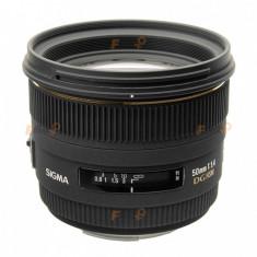 Sigma 50mm f/1.4 EX DG HSM - Canon EF - Obiectiv DSLR Sigma, Standard, Autofocus, Canon - EF/EF-S