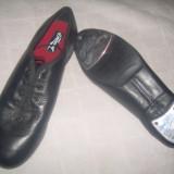 Pantofi STEP - Pantof barbat, Marime: 36, 39, Culoare: Negru, Piele naturala