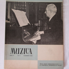 Revista Muzica 1960, nr. 11, reviste culturale vechi - Revista culturale