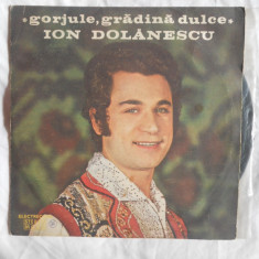 {DISC VINYL} ION DOLANESCU - GORJULE GRADINA DULCE (vinil, ELECTRECORD) - Muzica Populara