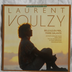 {DISC VINYL} LAURENT VOULZY - THE BEST OF (vinil fabricat in Franta, RCA) - Muzica Rock rca records