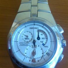 SEIKO ARCTURA KINETIC - Ceas barbatesc Seiko, Inox, Cronograf, Analog, 100 m / 10 ATM