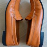 Pantofi MagiCobbler piele naturala,Vero Cuoio Made in Italy,cusuti manual;40 1/2