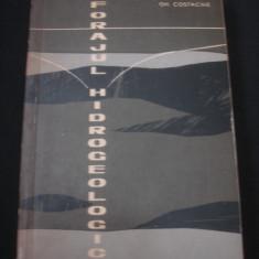 GH. COSTACHE - FORAJUL HIDROGEOLOGIC {1963}