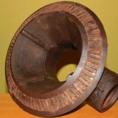 ARZĂTOR DE ARAGAZ, MARE & VECHI, FONTĂ MASIVĂ, NECURĂȚAT, IDEAL PT SOBE, 3.5 KG! - Metal/Fonta
