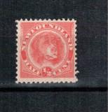 Newfoundland Terra Nova 1896, Mi #35 b*, caine Terra-Nova, MLH, rar, cota 70 Euro