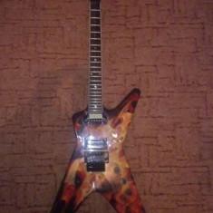 Chitara electrica Fender DEAN Dime O Flame ML
