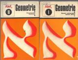ALEF zero , autori G. Girard si C. Thierce, Geometrie, 2 volume, vol.1 - Spatii vectoriale, spatii afine; vol.2- geometrie metrica