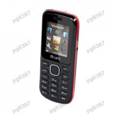Telefon GSM Dual Sim M-Life - 400398 - Telefon mobil Dual SIM, Nu se aplica, Neblocat, Fara procesor, Clasic
