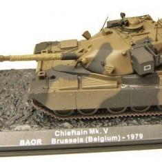 Macheta tanc Chieftain Mk.V Brussels - 1979 IXO/ALTAYA scara 1:72