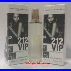 TESTER FIOLA DAMA CAROLINA HERRERA 212 VIP - 40ML - Parfum femeie Carolina Herrera, Altul