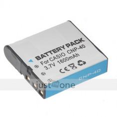 Baterie acumulator 1600mAh CNP-40 Casio