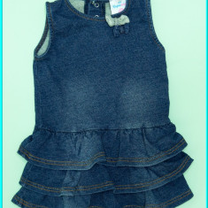 Sarafan fetite, din bumbac, de calitate, TOPOMINI→ fete | 9—12 luni | 74—80 cm