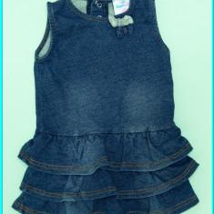 FRUMOS _ Sarafan fetite, bumbac, TOPOMINI _ fete | 9 - 12 luni | 80 cm - Sarafan copii