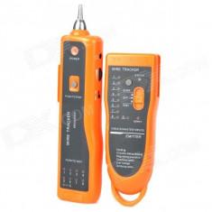 Tester pentru verificarea cablurilor de telefon si internet UTP