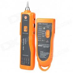 Tester pentru verificarea cablurilor de telefon si internet UTP - Cablu retea
