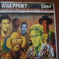 The beat Wha'ppen album disc vinyl muzica rock new wave ska dub reggae 1981 lp, VINIL