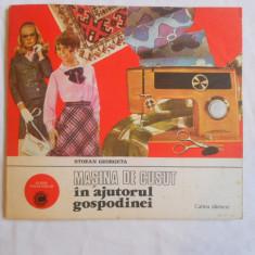 STOEAN GEORGETA - MASINA DE CUSUT IN AJUTORUL GOSPODINEI - album caleidoscop - Carte design vestimentar