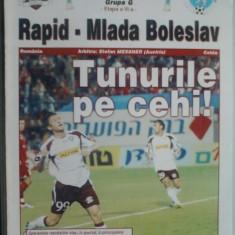 Rapid Bucuresti-Mlada Boleslav (23 noiembrie 2006) - Program meci