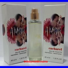 TESTER FIOLA DAMA CACHAREL AMOR AMOR - 40ML - Parfum femeie Cacharel, Apa de parfum