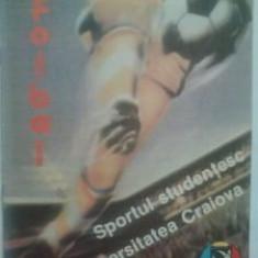 Sportul Studentesc-Universitatea Craiova (martie 1988) - Program meci