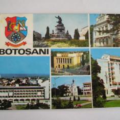 RC - BOTOSANI 4 - Carte Postala Moldova dupa 1918, Circulata, Fotografie
