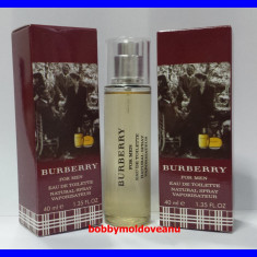 TESTER FIOLA PARFUM BARBAT BURBERRY FOR MEN - 40ML - Parfum barbati Burberry, Apa de toaleta