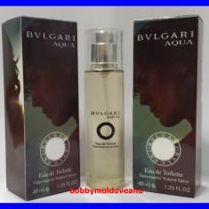 TESTER FIOLA PARFUM BARBAT BULGARI AQUA - 40ML - Parfum barbati Bvlgari, Altul