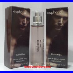 TESTER FIOLA PARFUM BARBAT CALVIN KLEIN EUPHORIA - 40ML - Parfum barbati