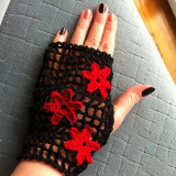Manusi hand made - Manusi Dama, Marime universala