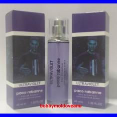 TESTER FIOLA PARFUM BARBAT PACO RABANNE ULTRAVIOLET - 40ML - Parfum barbati, Altul