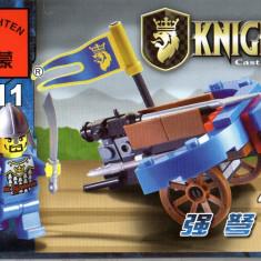 Jucarie arbaleta si figurina tip lego, tip lego, 42 piese, Enlighten 1011 - Jocuri Seturi constructie