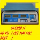 CANTAR 40 kg ELECTRONIC afisaj DIGITAL - Cantar comercial
