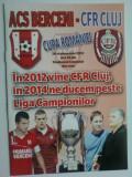 ACS Berceni-CFR Cluj Napoca (26 septembrie 2012) - meci de Cupa Romaniei
