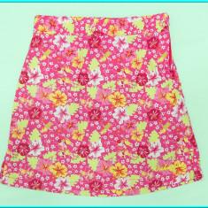 DE FIRMA _ Fusta vara, bumbac, roz cu floricele, ca noua, H&M _ fete | 6 - 7 ani, Marime: Alta