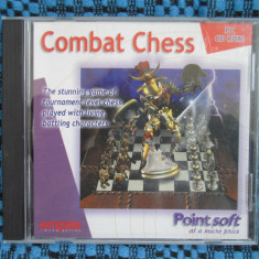 PROGRAM (SOFT) de SAH - COMBAT CHESS POINT SOFT - CD perfect functional (original din ANGLIA, in stare impecabila!!!) - Jocuri Logica si inteligenta