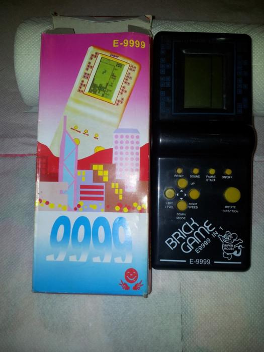 Joc Tetris Clasic 9999 in 1 Brick Game Pentru dezvoltarea gandirii logice