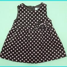 CA NOU _ Sarafan / rochita fetite, catifea fina, EARLY DAYS _ fete | 6 - 12 luni - Sarafan copii