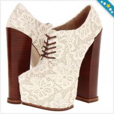 Pantofi DV8 DOLCE VITA Alliance - Pantofi Dama, Femei - 100% AUTENTIC - Pantof dama Steve Madden, Culoare: Alb, Marime: 38, 38.5, Cu toc