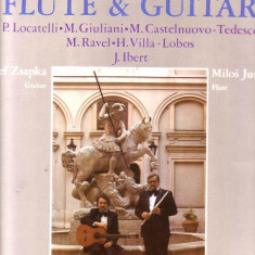 Vinil-Muzica pentru flaut si chitara - Muzica Clasica Altele
