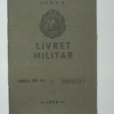 """Livret militar RPR """"Calaret"""" - 1959 Ministerul Fortelor Armate R.P.R., Republica Populara Romana, Romania, acte vechi, documente, militaria"""