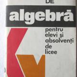 """FISE DE ALGEBRA PENTRU ELEVI SI ABSOLVENTI DE LICEE"", N. Chircoiasu, M. Iasinschi, 1976. Absolut noi - Manual scolar, Clasa 12, Matematica"