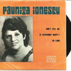 sfinx  paunita ionescu  vinil vinyl ep single