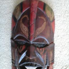 MASCA din lemn sculptat (KENIA) - Masca carnaval